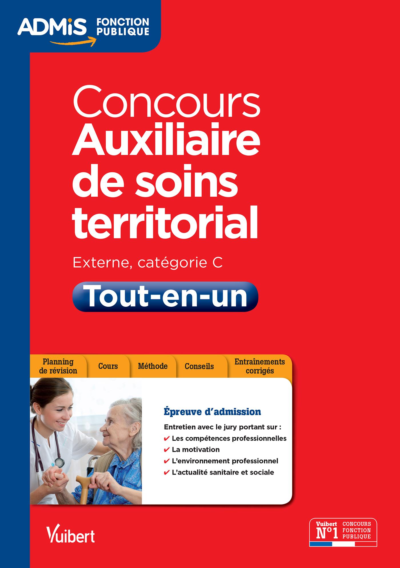 feadd4064ed Concours Auxiliaire de soins territorial - Catégorie C - Tout-en-un ...