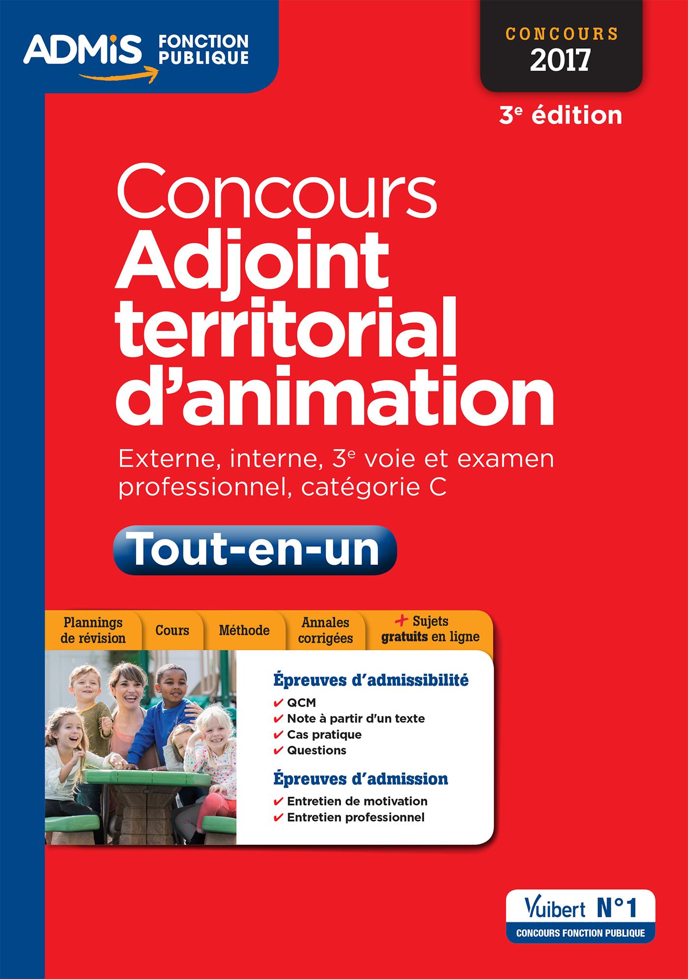 ead465d1dcf Concours Adjoint territorial d animation - Tout-en-un - Catégorie C ...