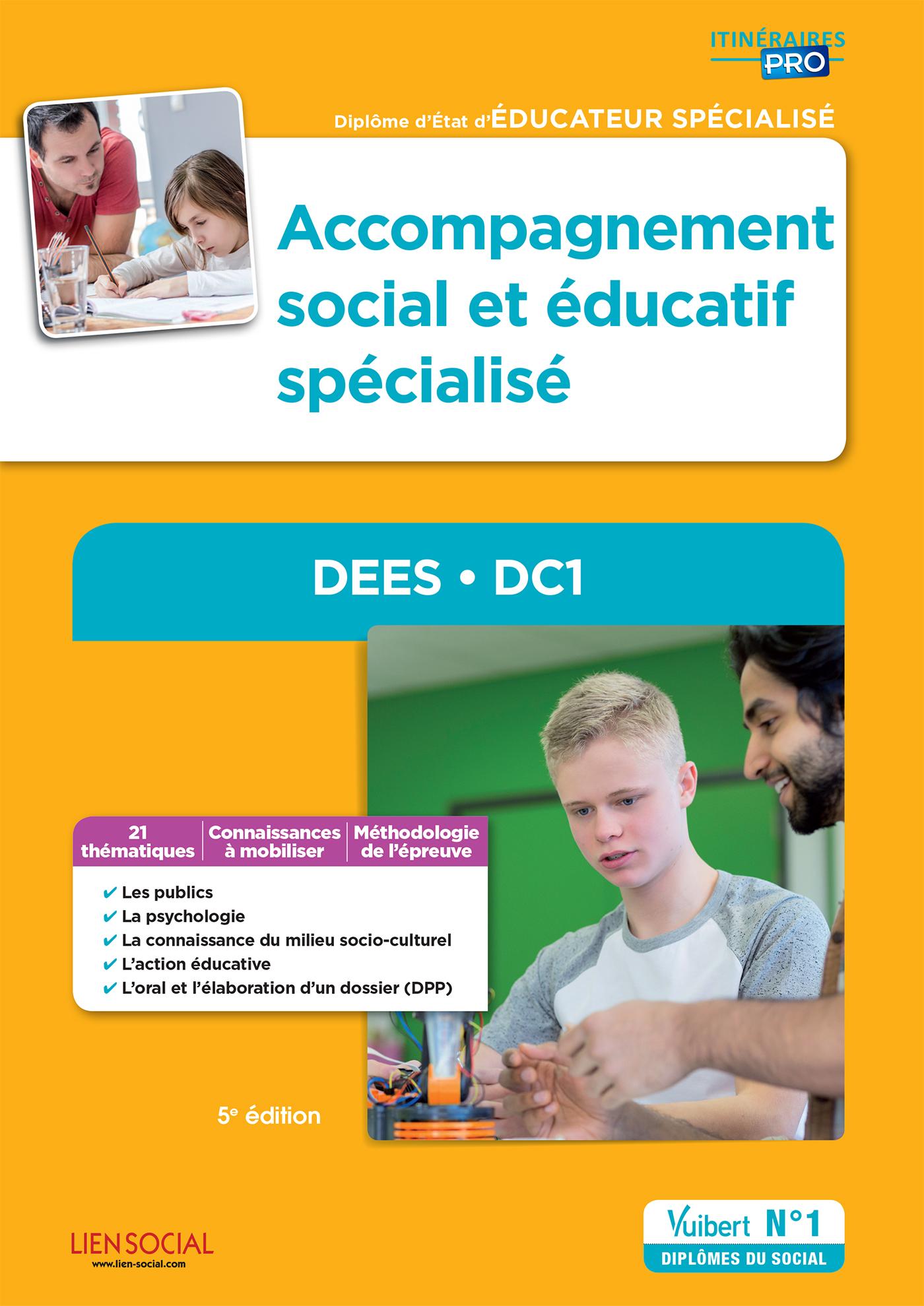 Accompagnement social et ducatif sp cialis dees dc1 - Educateur technique specialise cuisine ...