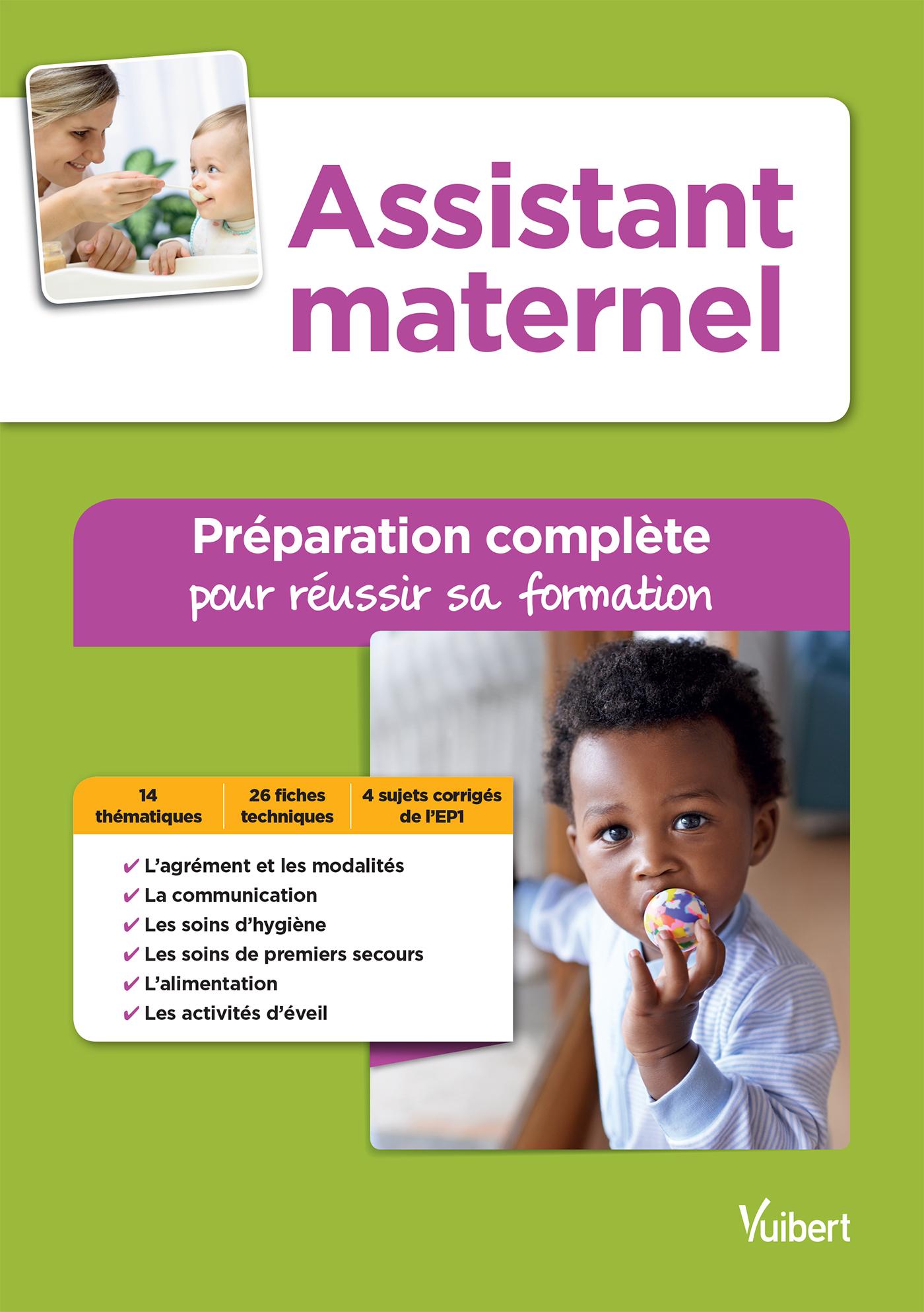 Sehr Assistant maternel - Préparation complète pour réussir sa  PL81