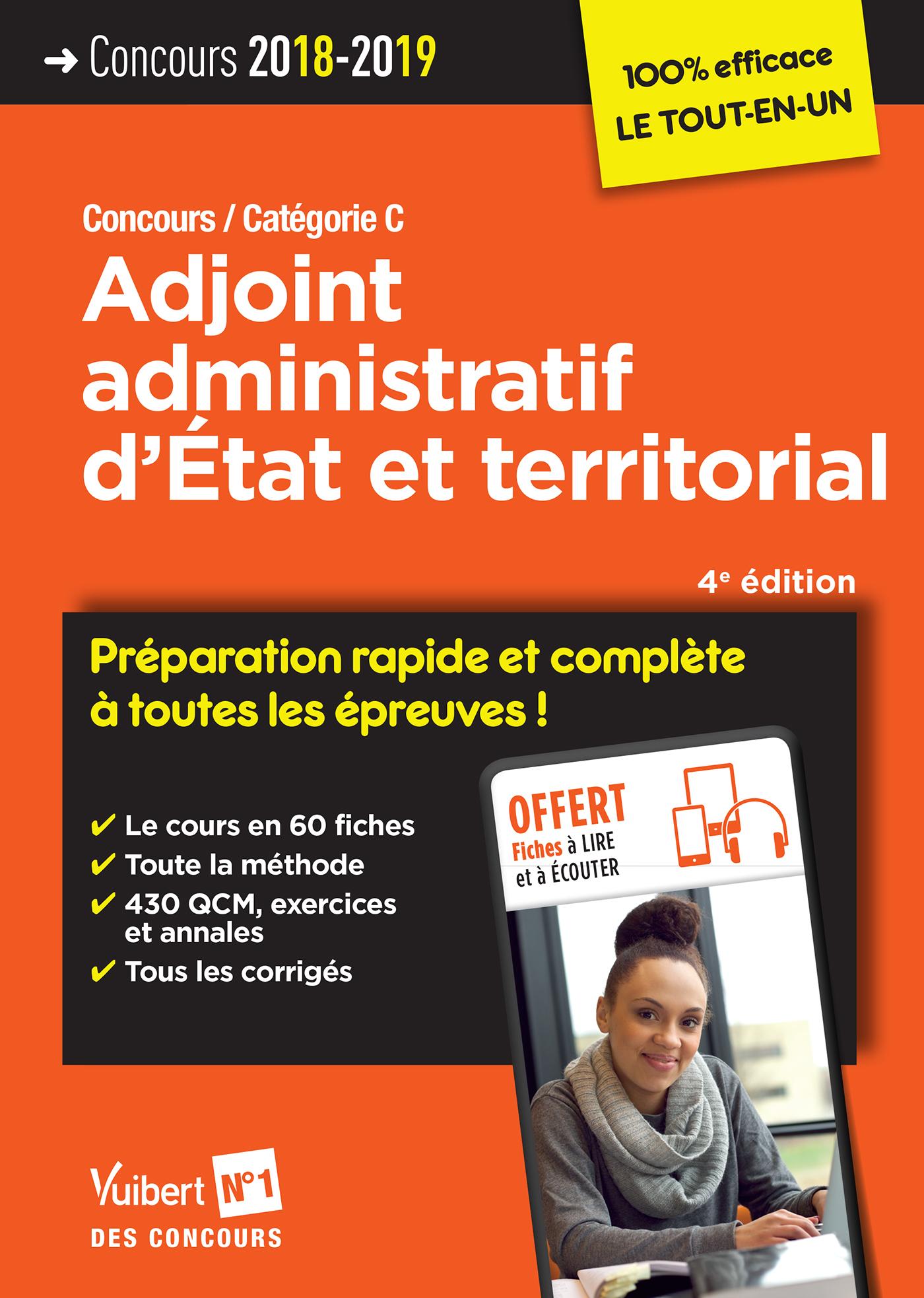 344771baaed Concours Adjoint administratif d État et territorial - Préparation ...