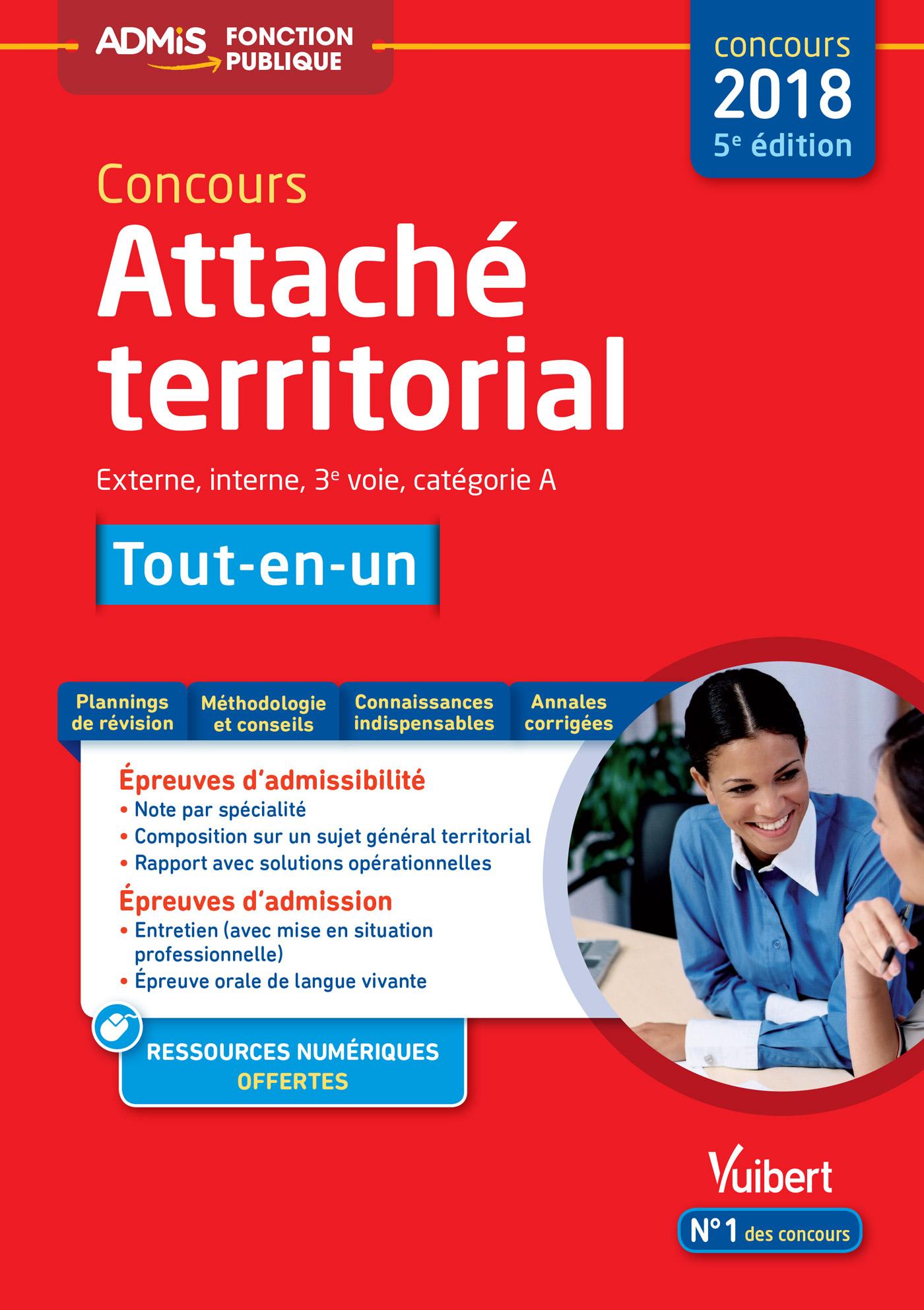 0cb06830ea7 Concours Attaché territorial - Catégorie A - Tout-en-un