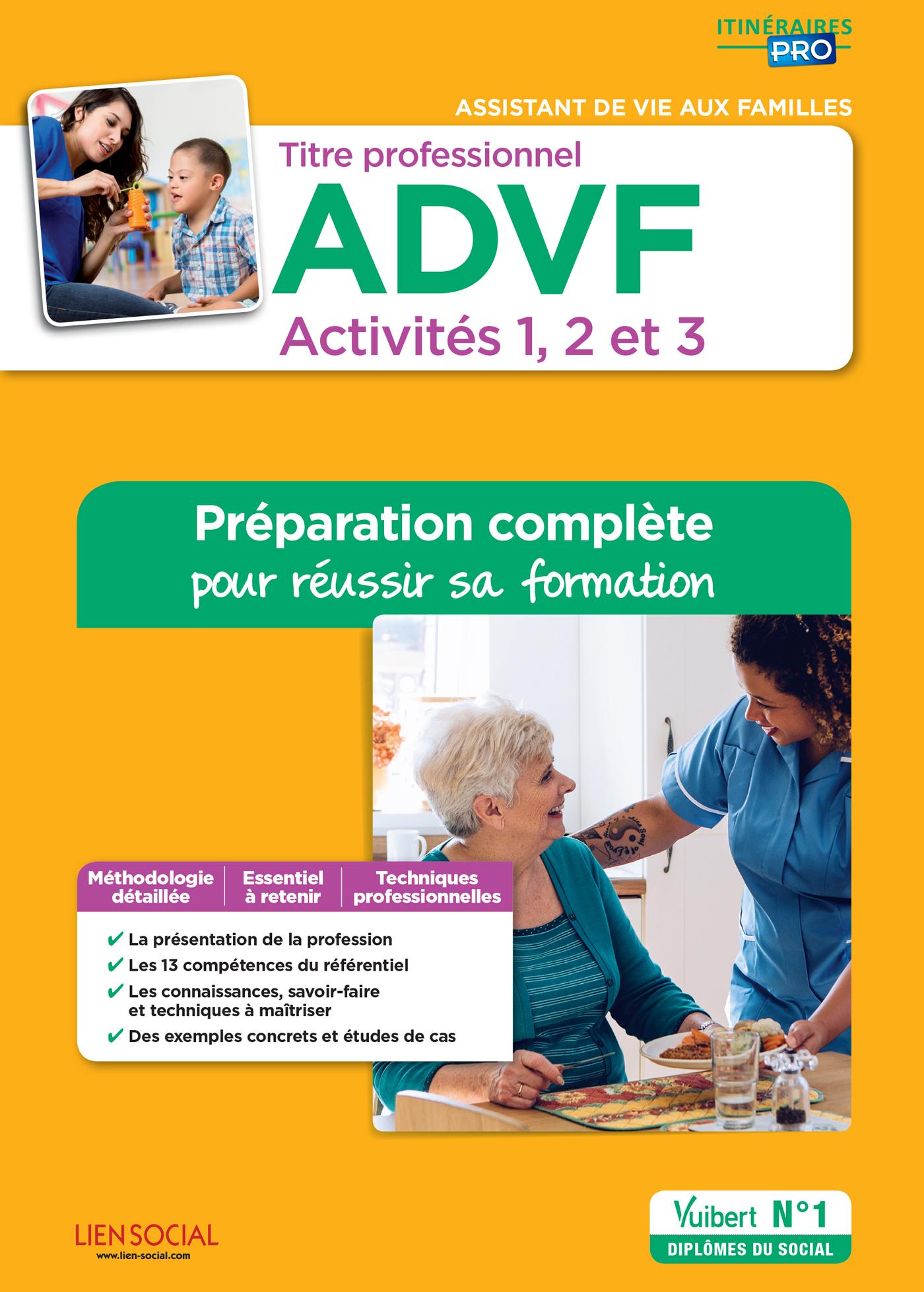 Titre Professionnel Advf Activites 1 A 3 Preparation Complete Pour Reussir Sa Formation