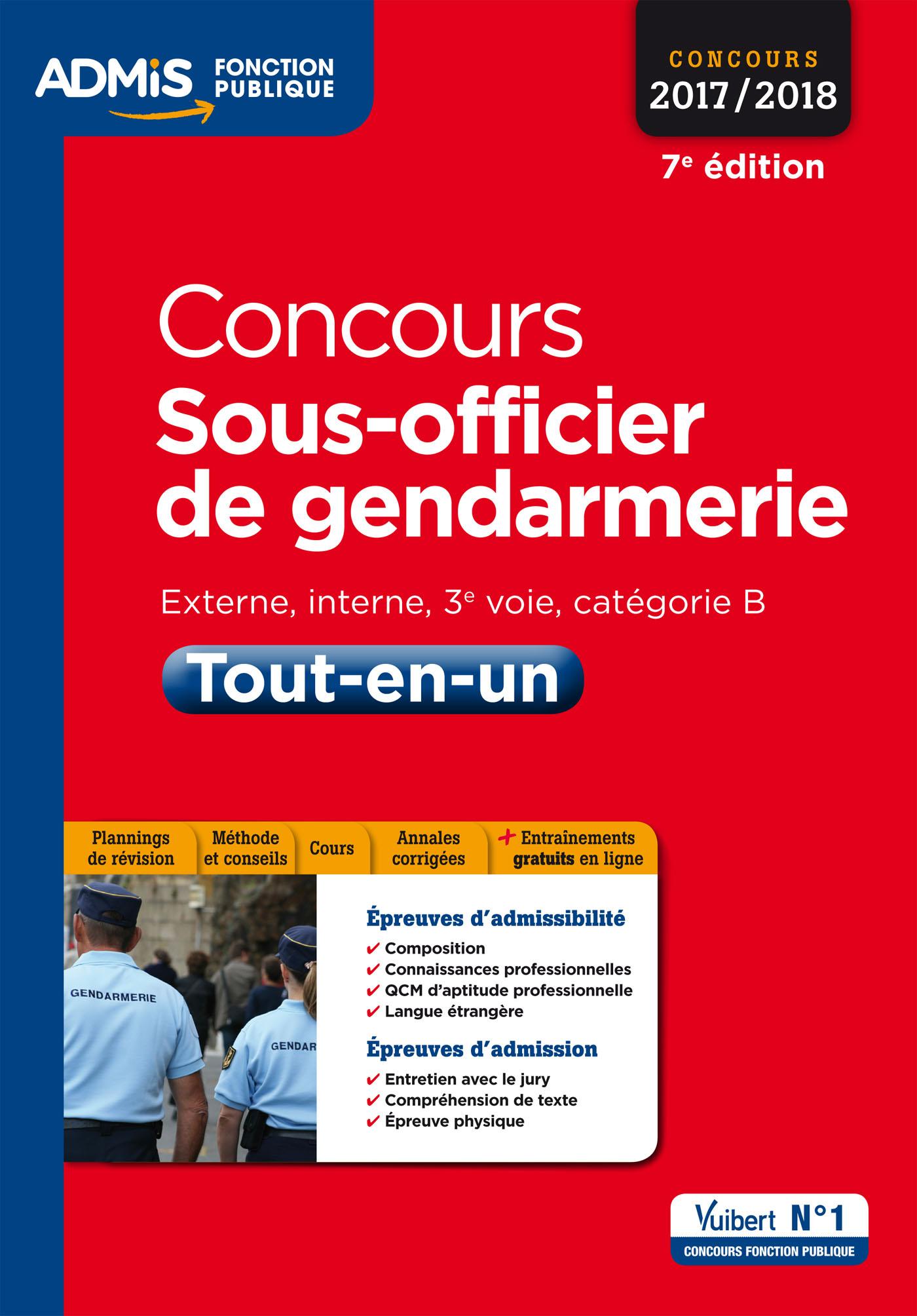 Culture générale gendarmerie sous-officier