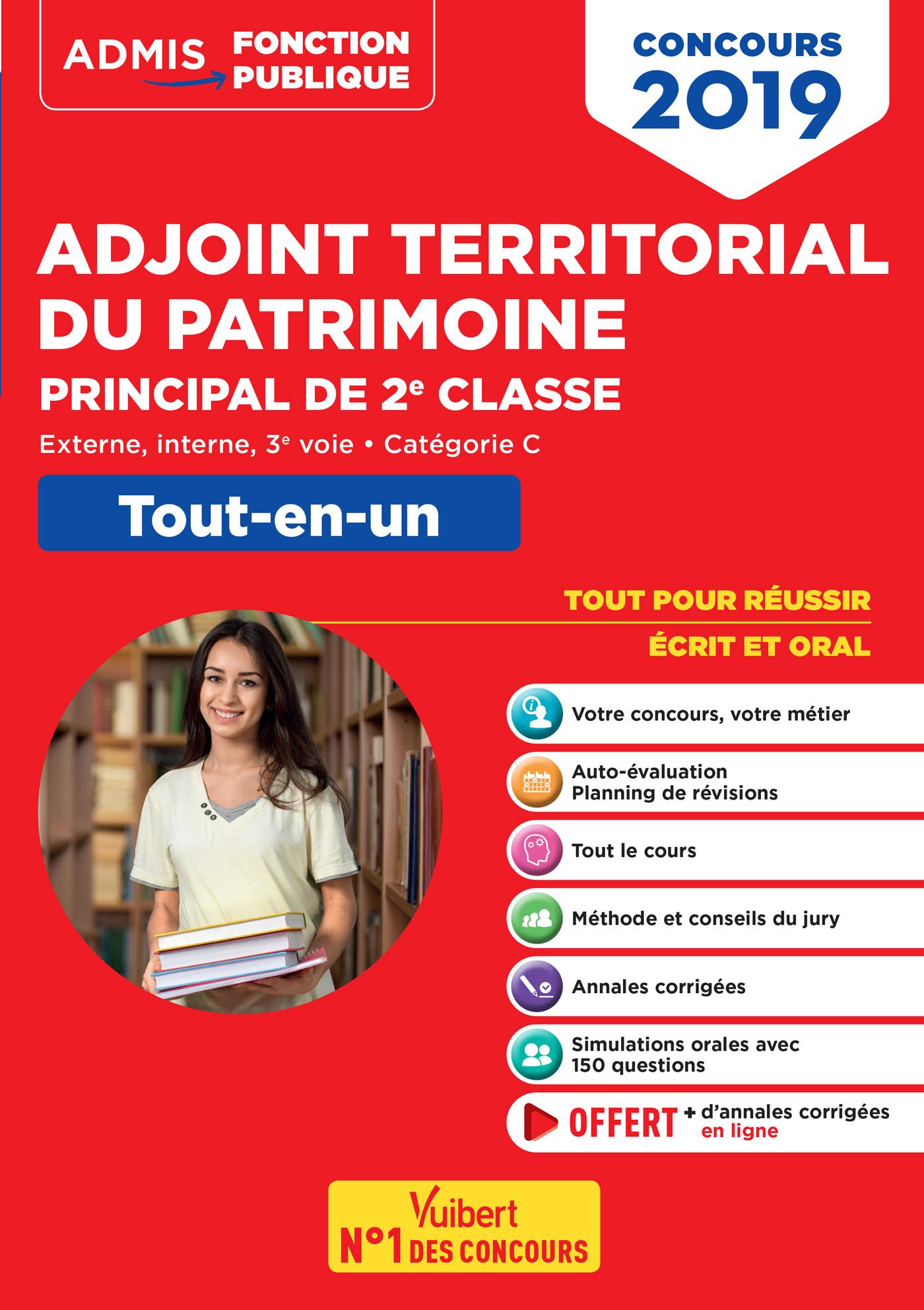 concours adjoint territorial du patrimoine - cat u00e9gorie c