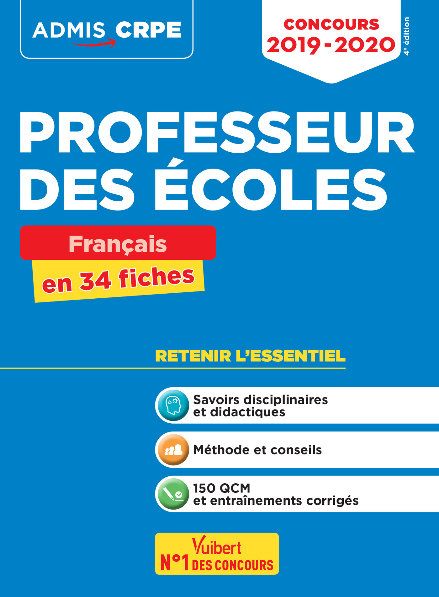 Concours Professeur Des Ecoles Crpe Francais En 34 Fiches