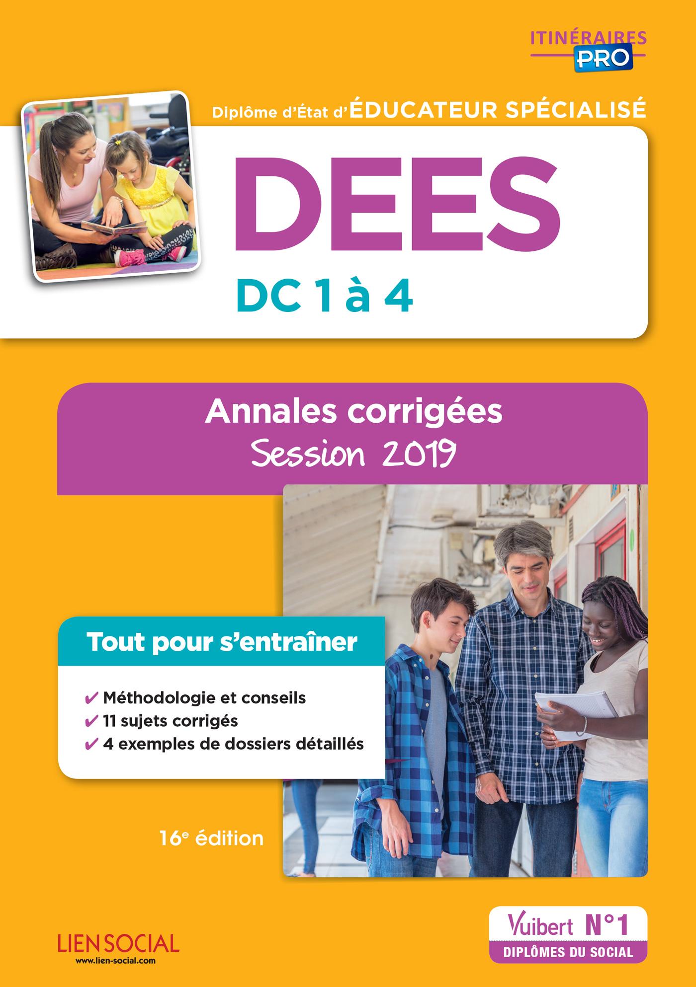 Dees Preuves De Certification Dc 1 4 Annales Corriges Vuibert