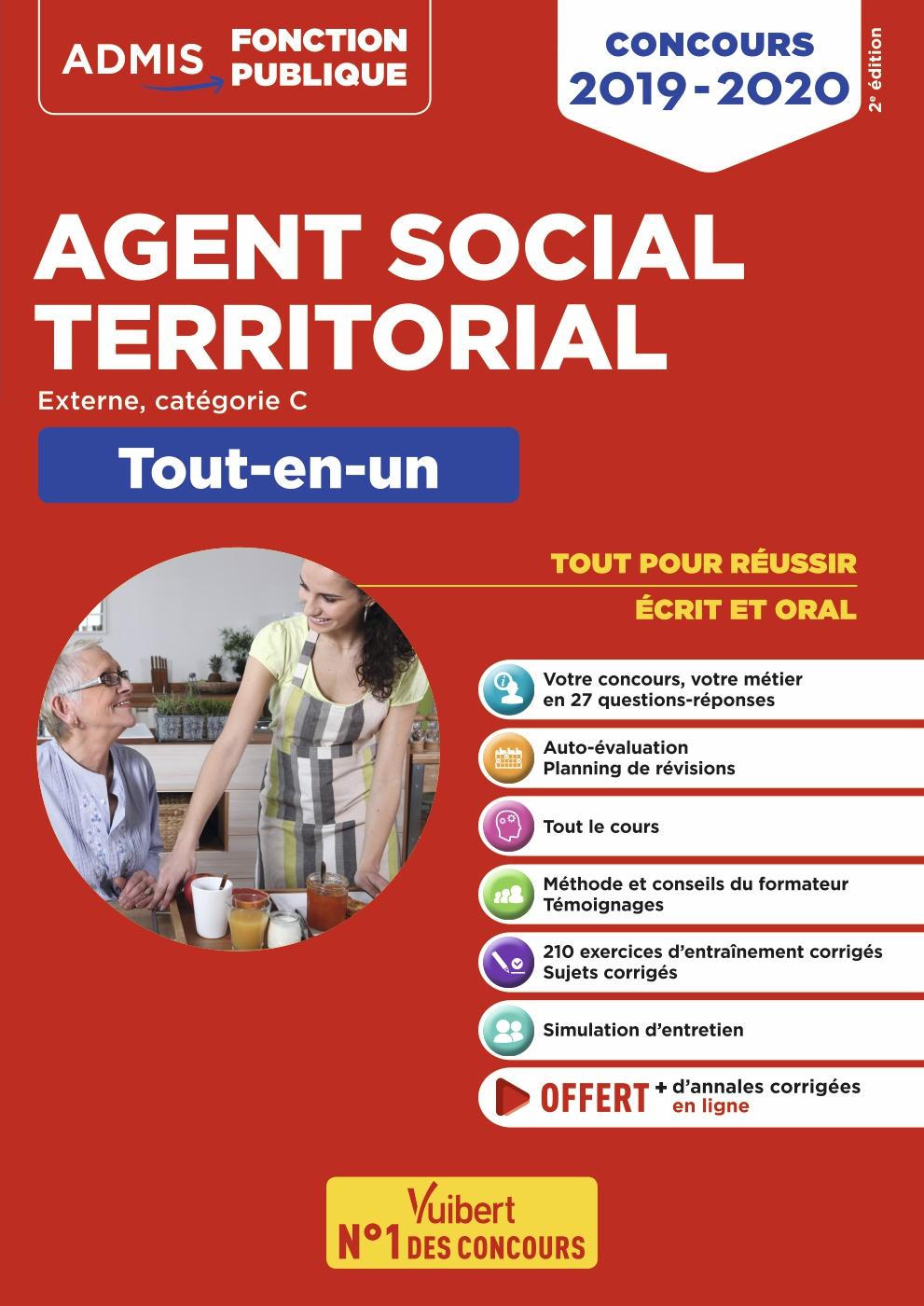c08aac41c0c Concours Agent social territorial principal de 2e classe - Catégorie C -  Tout-en-un