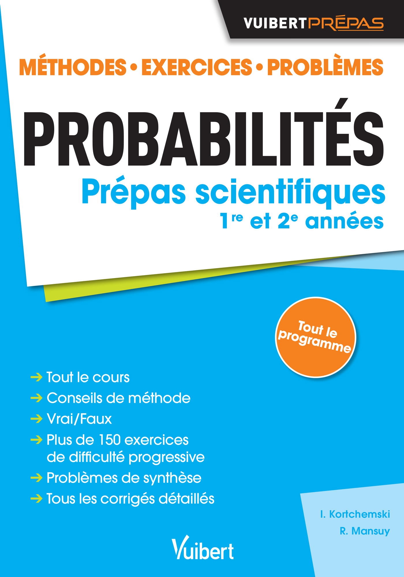 Probabilites Classes Preparatoires Scientifiques Vuibert