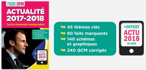 Actualité 2017-2018 | Vuibert