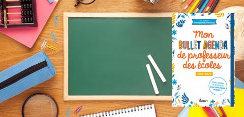 Mon Bullet agenda de professeur des écoles 2019-2020