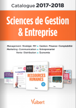Catalogue Sciences de Gestion & Entreprise 2017-2018