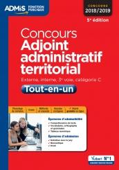 48bbba20165 Concours Adjoint administratif territorial - Catégorie C - Tout-en-un
